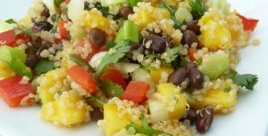 Mango Quinoa Black Bean Salad