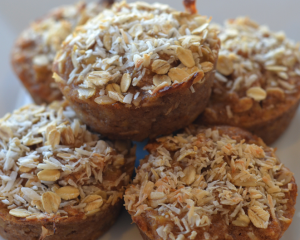 Pinapple Coconut Muffins