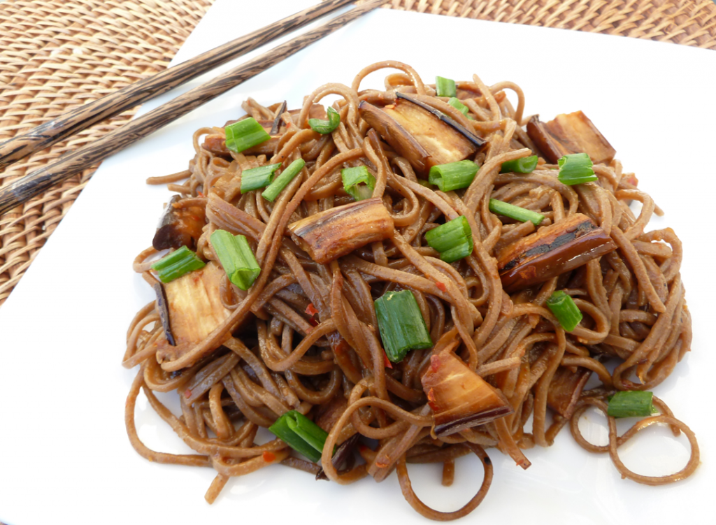 Spicy Soba Noodles With Eggplant jpg