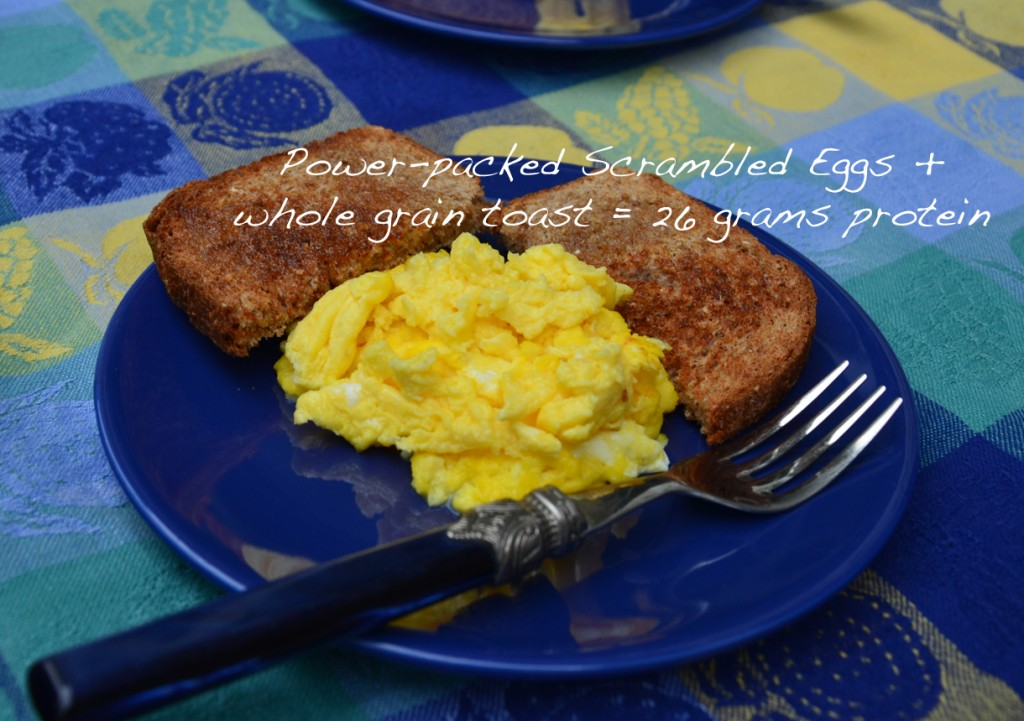 Power-packed Scrambled Eggs