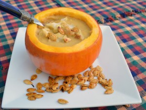 Roasted Cauliflower Pumpkin Soup 2