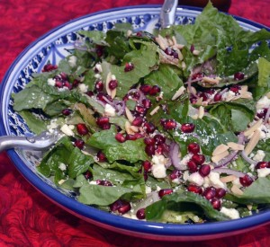 Pomegranite Green Salad