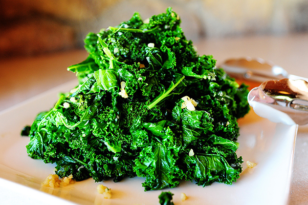 Panfried Kale By Ree Drummond/ The Pioneer woman/ on Flickr